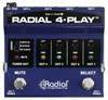 Radial 4 -Play Multi Output DI Box